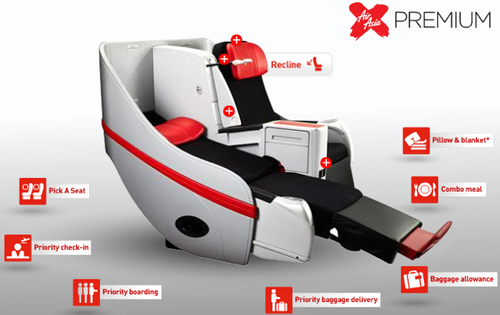 """air asia nature of business Air asia should offer some flights designated as """"business class"""" that provide a wider range of services for business travellers at a higher price than its normal flights this strategy would be intended to attract a higher percentage of business travellers."""