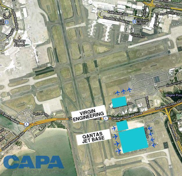 Sydney Airport divides terminals along alliance lines but