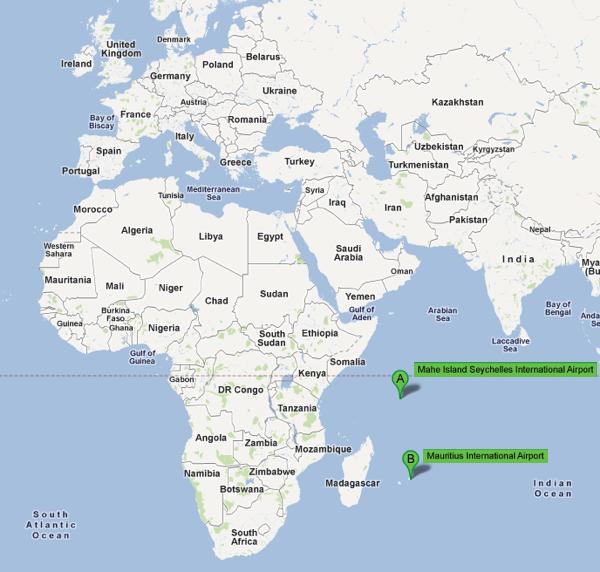 Vanilla Islands Map