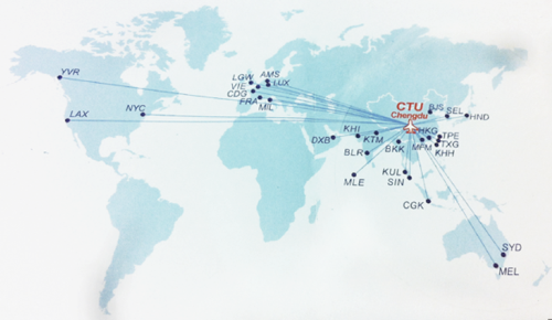 Xiamen Airlines Route Map.Sichuan Airlines Expanding Network From Chengdu With