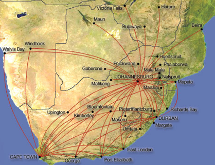 liberalising sa air routes See detailed map of the airline's current routes and read helpful user reviews flightradar24 is the world's most popular flight tracker iata: sa icao.