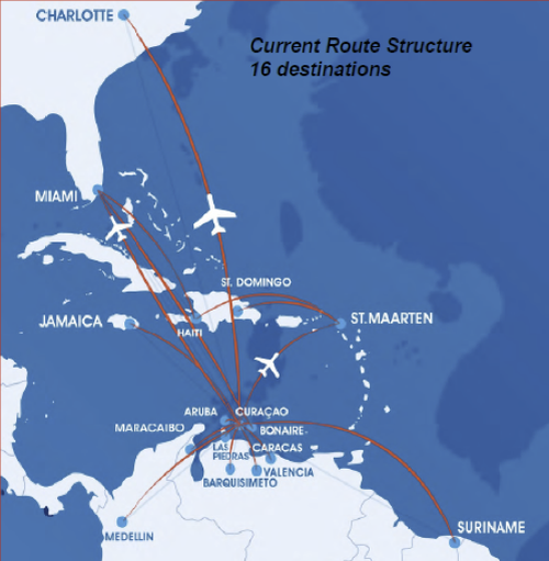 Curacaos InselAir targets MiamiVenezuela market with launch of