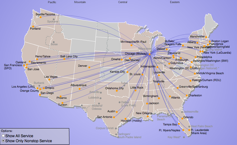 Southwest S Latest Network Revamp Features Short Haul Cuts