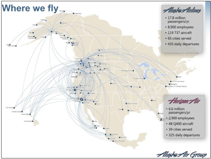 Alaska continues focus on transcontinental expansion to fuel ...