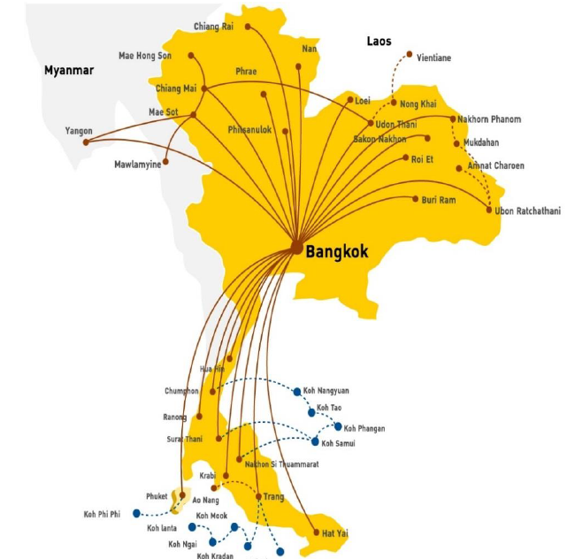 Nok Air plans more expansion in 2014 despite increasing ...