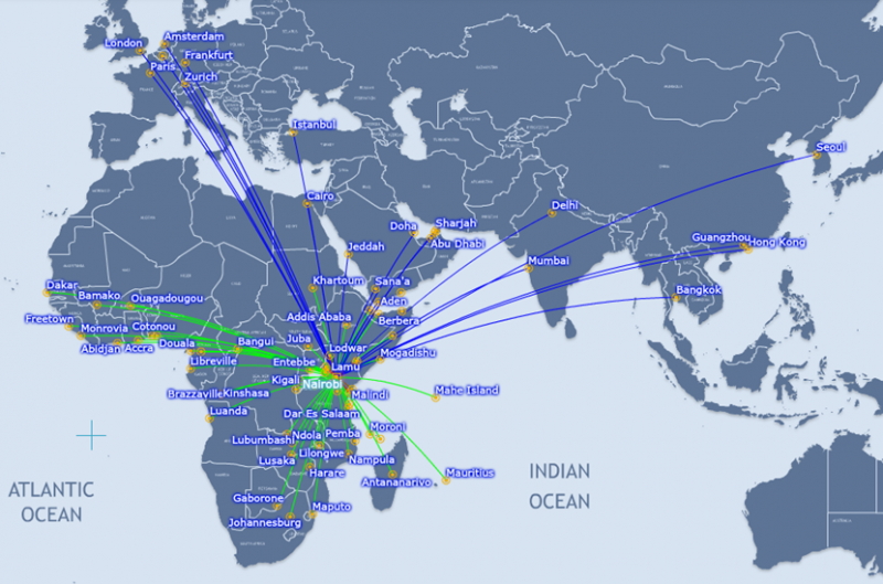 Kenya airways and ethiopian airways compete for nairobi and addis ethiopian airways and kenya airways in tight fight for dominance of eastern africa gumiabroncs Choice Image