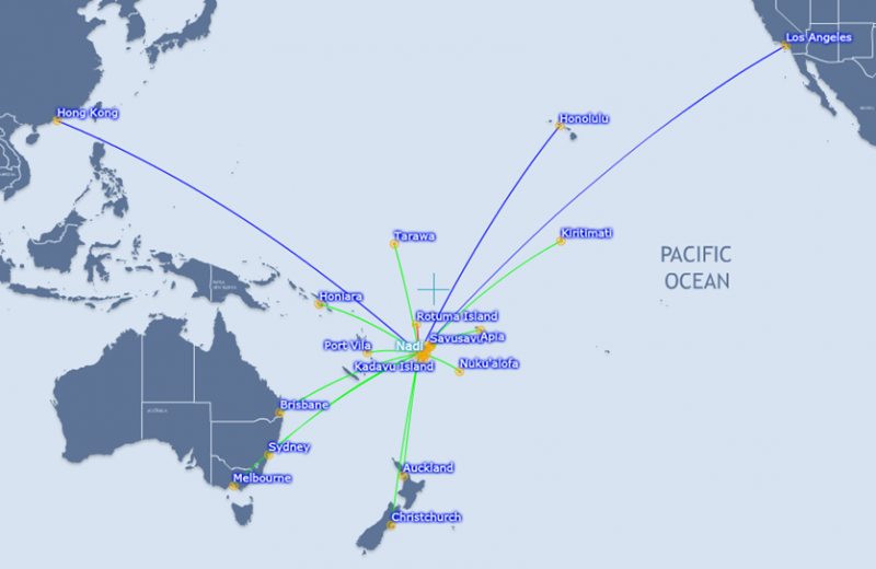 Air Pacific charts its future course as a rebranded Fiji Airways ...