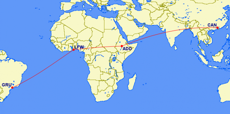 Ethiopian Airlines expands its global footprint to link the world s