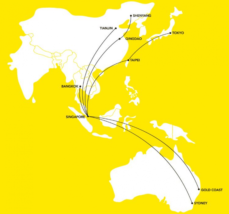 SIA\'s Scoot again targets under-penetrated Taiwanese market ...