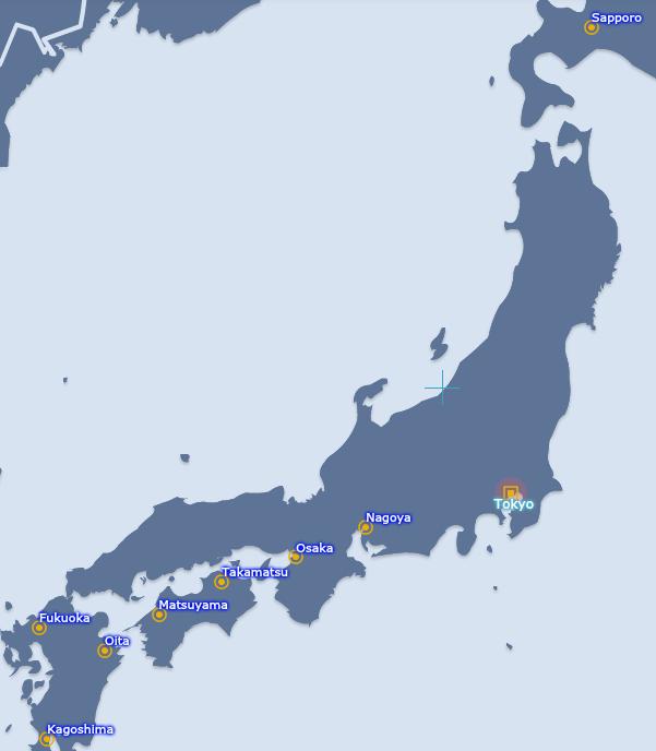 Jetstar Japan Settles In For The Long Term As AirAsias Departure - Japan jetstar map