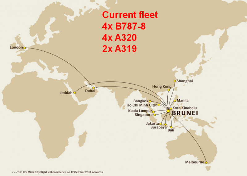 Royal Brunei Airlines focuses on regional growth as restructuring ...
