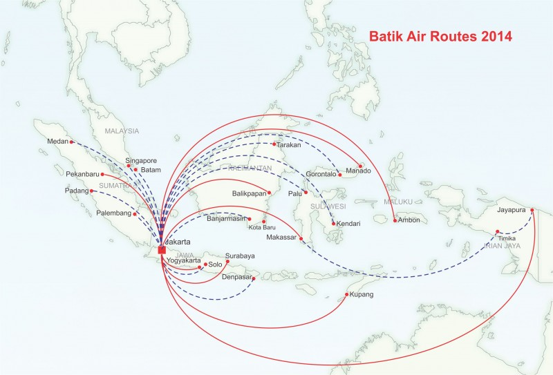 Lion Air\'s Batik Air plans major domestic push followed by ambitious ...