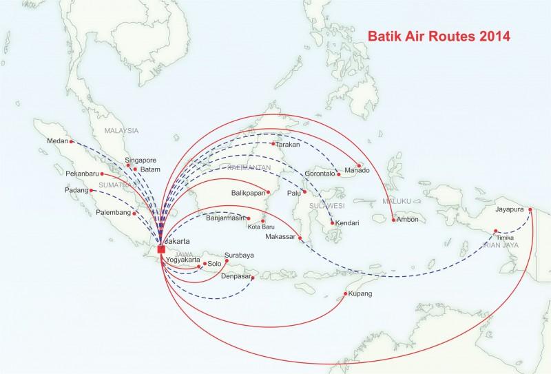 Lion Air's Batik Air 2015 outlook: rapid expansion as competition ...