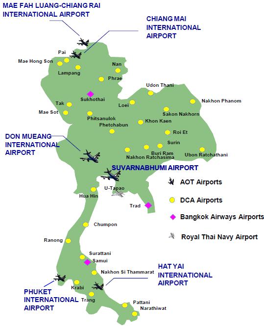 Thailand Aviation Growth Slows In 2014 As International Traffic