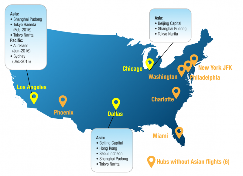 American Airlines To Thicken Its Asia Network With Services From Los Angeles