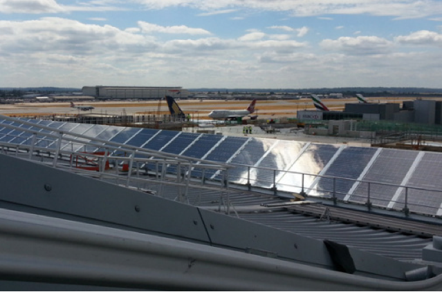 Solar Power Is Quot Taking Off Quot At Airports Lys Energy Group