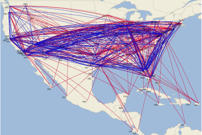Southwest Airlines Eyes Expansion Codeshares For International - Southwest flight map us