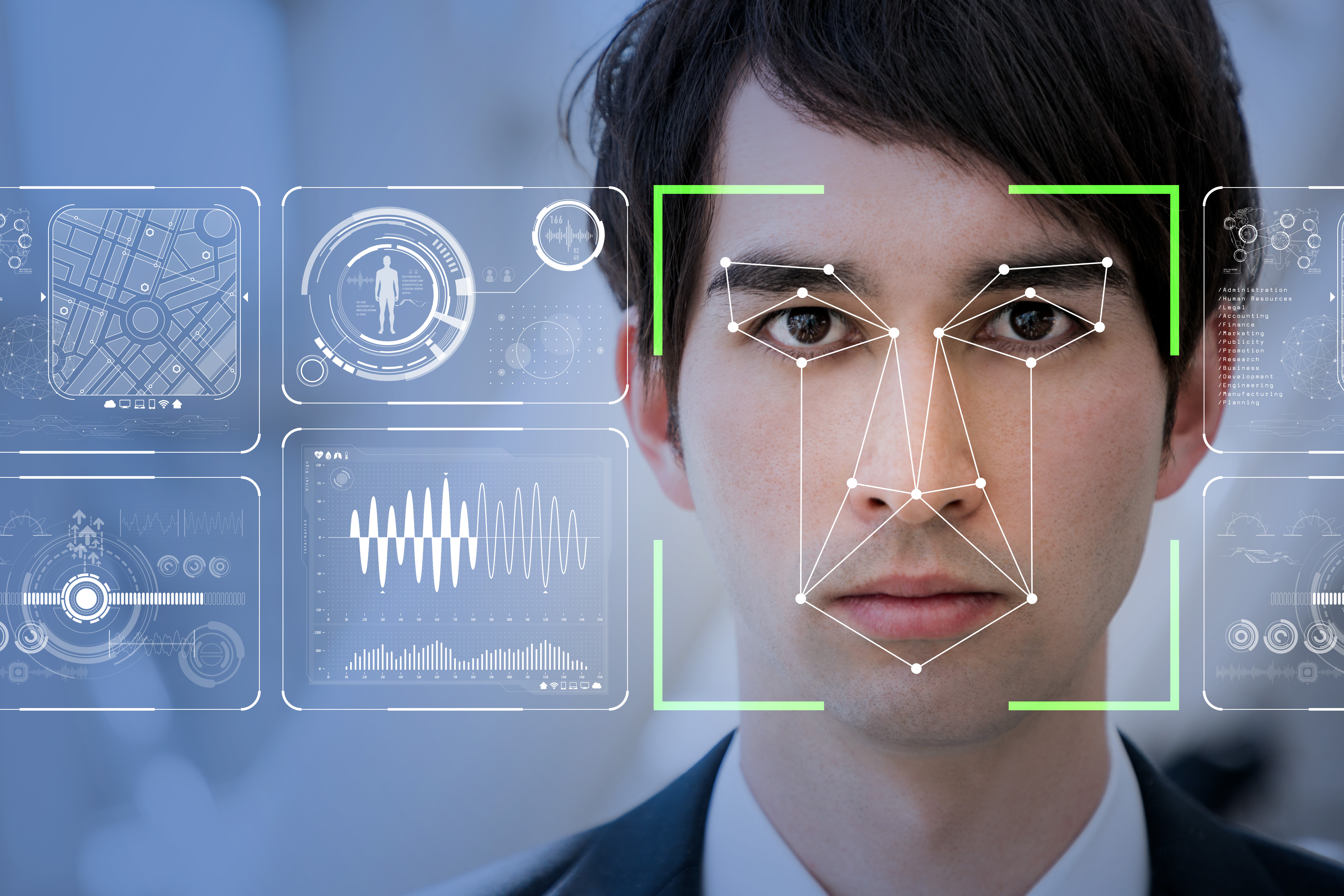 Limits of photographs in facial recognition