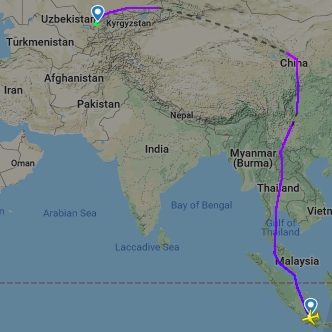 Pakistan airspace closure: India-Central Asia market most