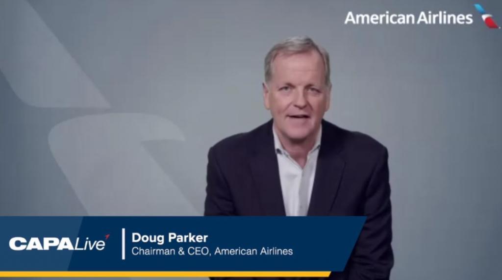 "CAPA Live: American's Doug Parker - alliances ""incredibly ..."