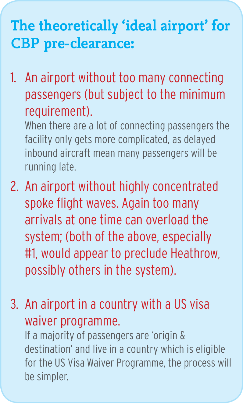 What is the most complicated thing about initial flight screening?