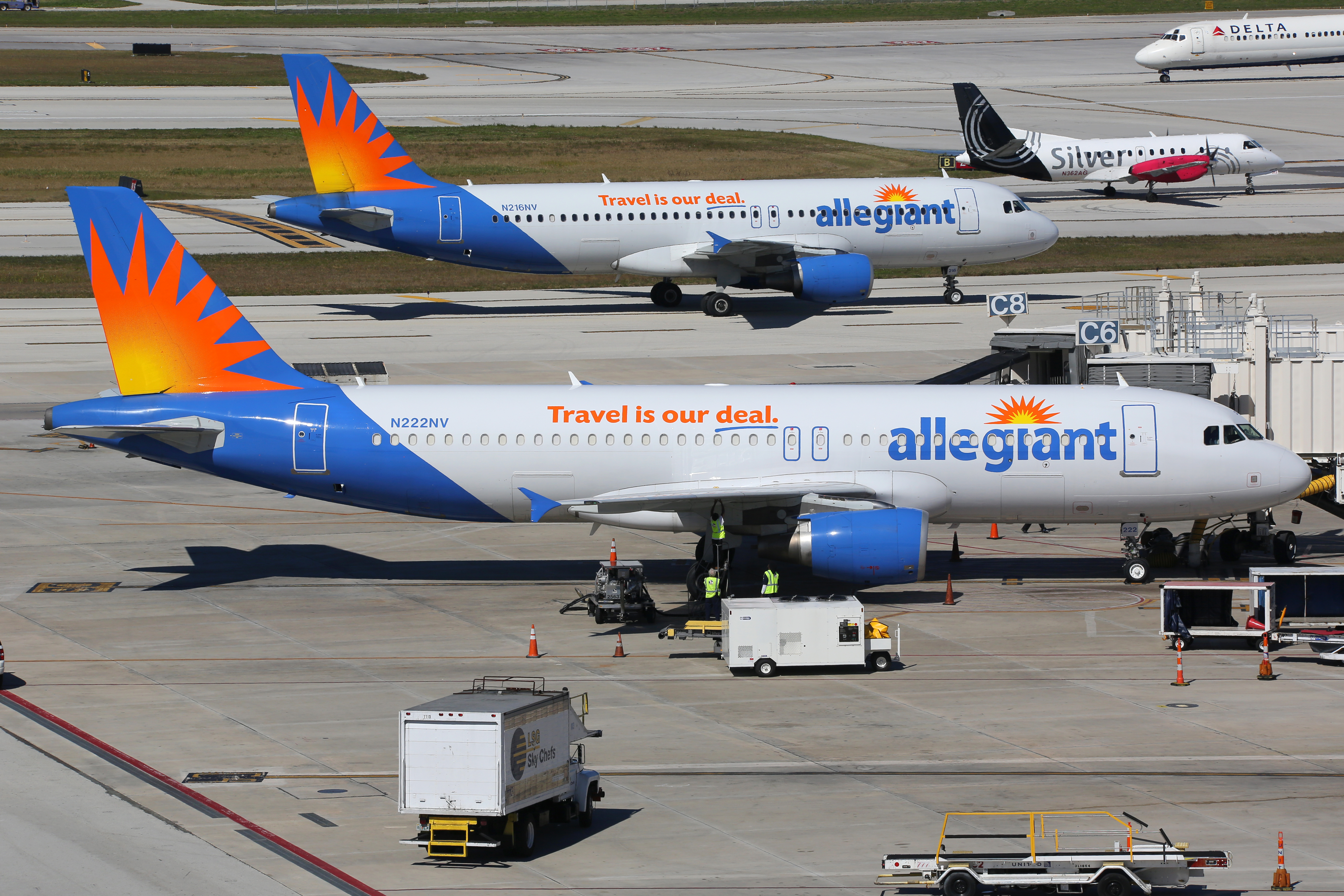Allegiant Air s United in New York testing niche ULCC model in large petitive metro market