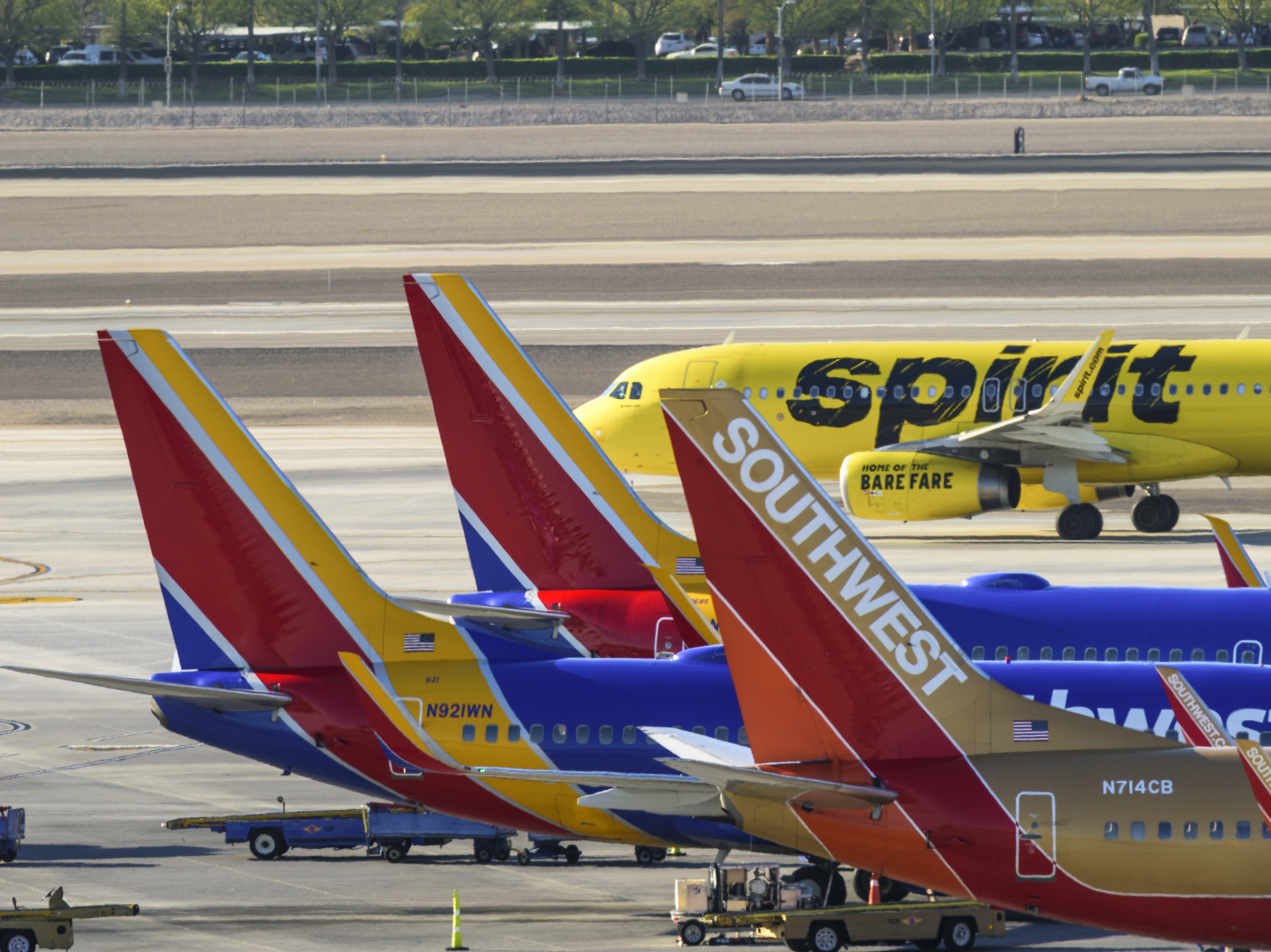 Spirit Airlines Feels Sting Of Southwest S Ing First Signs Emerge Changing Network Mix Capa