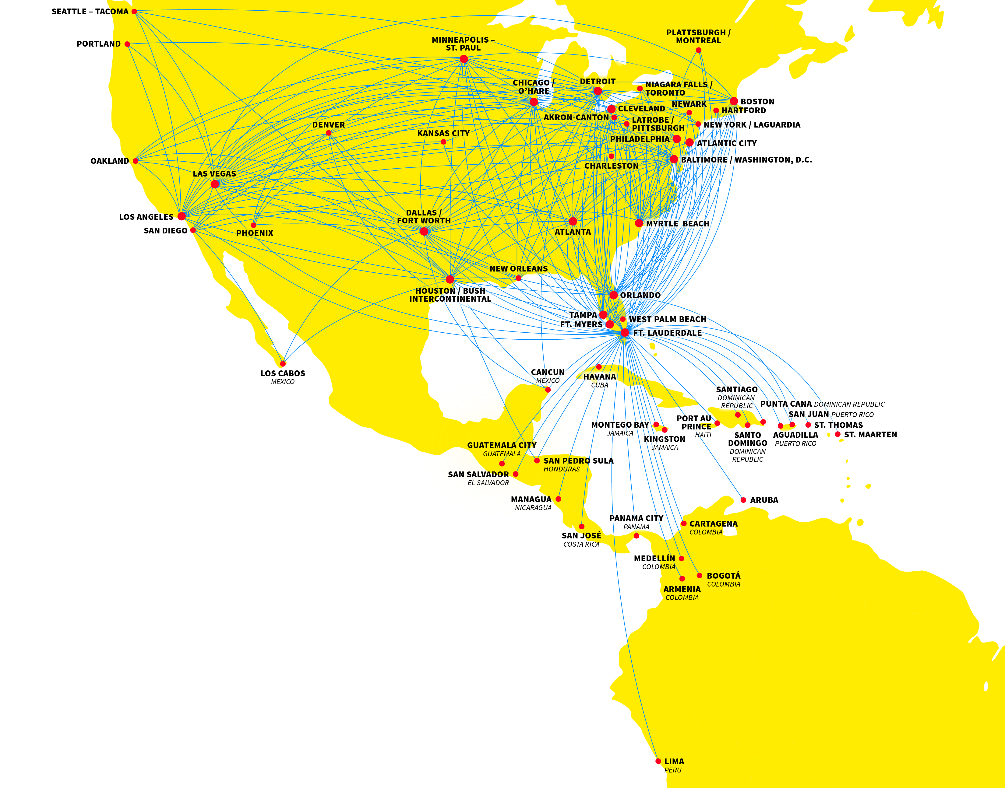 Spirit Airlines\' network changes have been more subtle than dramatic ...